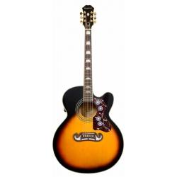 Epiphone EJ-200 CE Gold Elektro Akustik Gitar (Vintage Sunburst)