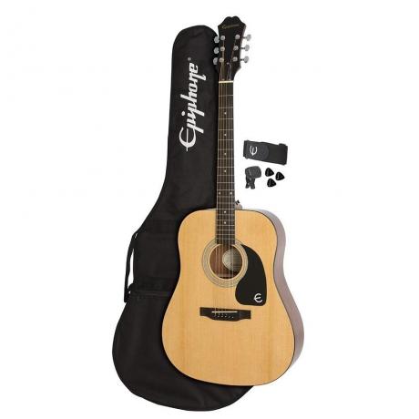 Epiphone FT-100 Player Pack Akustik Gitar Seti (Natural)<br>Fotoğraf: 1/5