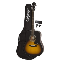 Epiphone FT-100 Player Pack Akustik Gitar Seti (Vintage Sunburst)