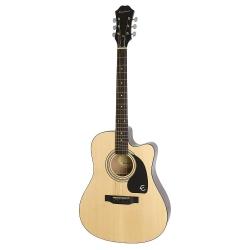Epiphone FT-100CE Jumbo Elektro Akustik Gitar (Natural)