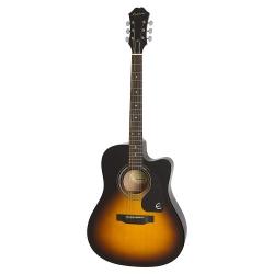 Epiphone FT-100CE Jumbo Elektro Akustik Gitar (Vintage Sunburst)