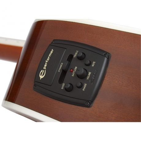 Epiphone FT-350SCE Min-ETune Elektro Akustik Gitar (Wine Red)<br>Fotoğraf: 2/3
