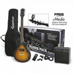 Epiphone Les Paul Player Pack Special II Elektro Gitar Seti (Vintage Sunburst)