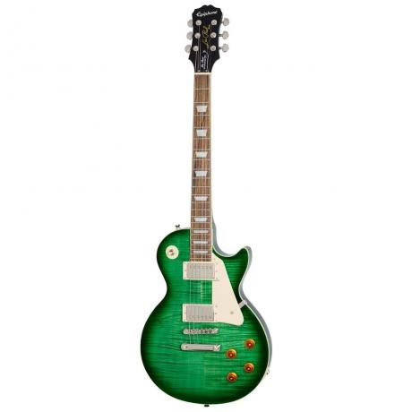 Epiphone Les Paul Standard Plustop Pro Elektro Gitar (Green Burst)<br>Fotoğraf: 1/2