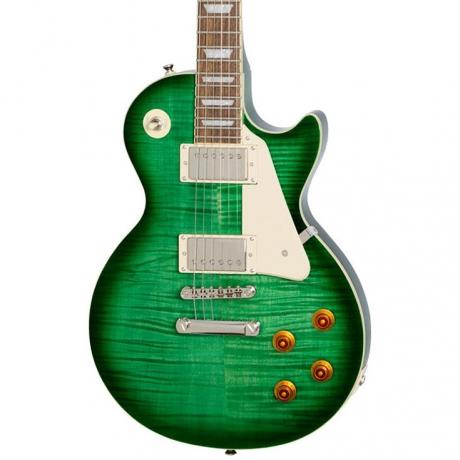 Epiphone Les Paul Standard Plustop Pro Elektro Gitar (Green Burst)<br>Fotoğraf: 2/2