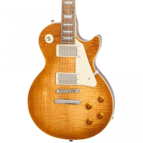 Epiphone Les Paul Standard Plustop Pro Elektro Gitar (Mojave Fade)<br>Fotoğraf: 2/2