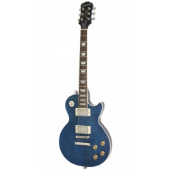Epiphone Les Paul Tribute Plus Outfit 1960's Elektro Gitar (Midnight Sapphire)