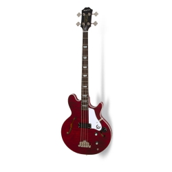 Epiphone Limited Edition 20th Ann Jack Bass Casady Outfit Bas Gitar (Wine Red)