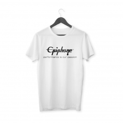 Epiphone Logo T-Shirt (Beyaz)