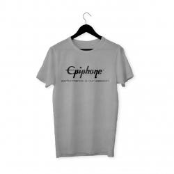 Epiphone Logo T-Shirt (Gri)