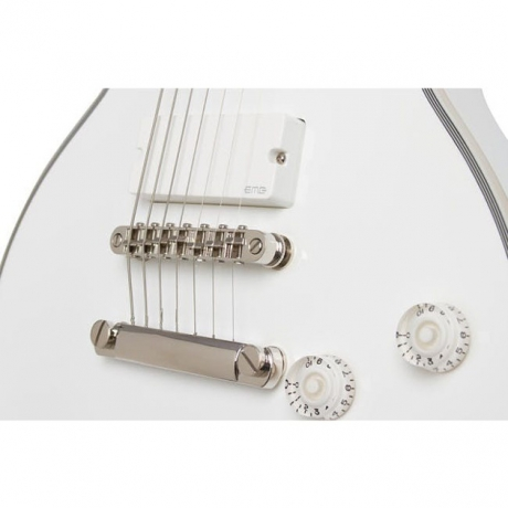 Epiphone Matt Heafy Snofall Les Paul Custom 7-Telli Elektro Gitar (Alpine White)<br>Fotoğraf: 2/7