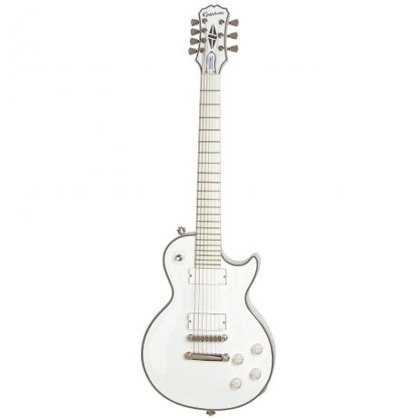 Epiphone Matt Heafy Snofall Les Paul Custom 7-Telli Elektro Gitar (Alpine White)<br>Fotoğraf: 1/7