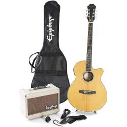 Epiphone PR-4E Elektro Akustik Gitar Seti