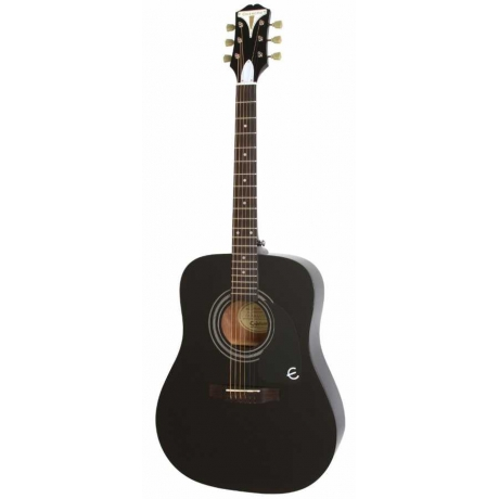Epiphone Pro-1 Akustik Gitar (Ebony)<br>Fotoğraf: 1/1