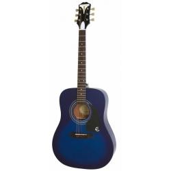 Epiphone Pro-1 Akustik Gitar (Trans Blue)