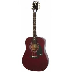 Epiphone Pro-1 Akustik Gitar (Wine Red)