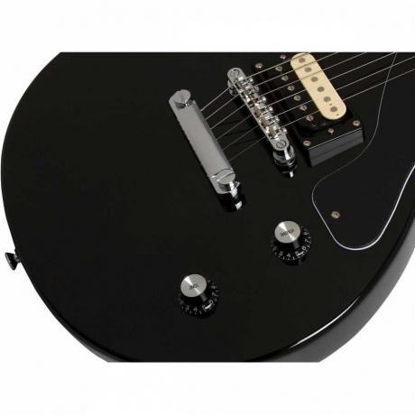 Epiphone Pro-1 Les Paul Jr. Ebony Elektro Gitar Paketi<br>Fotoğraf: 6/8