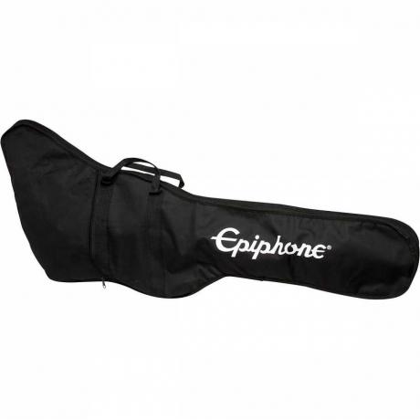 Epiphone Pro-1 Les Paul Jr. Ebony Elektro Gitar Paketi<br>Fotoğraf: 7/8