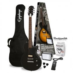 Epiphone Pro-1 Les Paul Jr. Ebony Elektro Gitar Paketi