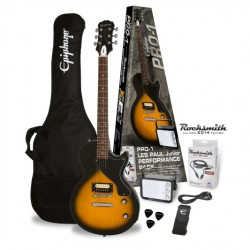 Epiphone Pro-1 Les Paul Jr. Elektro Gitar Seti (Vintage Sunburst)