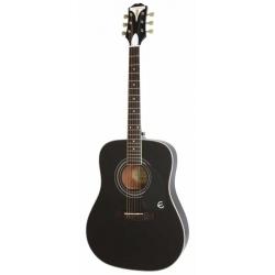 Epiphone Pro-1 Plus Akustik Gitar (Ebony)