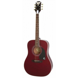 Epiphone Pro-1 Plus Akustik Gitar (Wine Red)