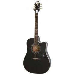 Epiphone Pro-1 Ultra Elektro Akustik Gitar (Ebony)