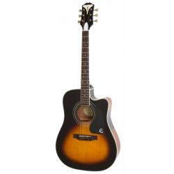 Epiphone Pro-1 Ultra Elektro Akustik Gitar (Vintage Sunburst)