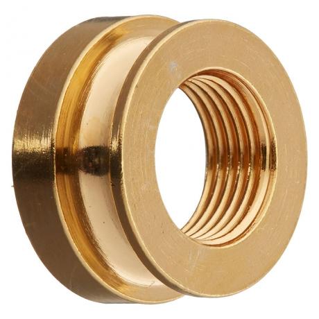 Fishman Chrome Strap Nut (Gold)<br>Fotoğraf: 1/1