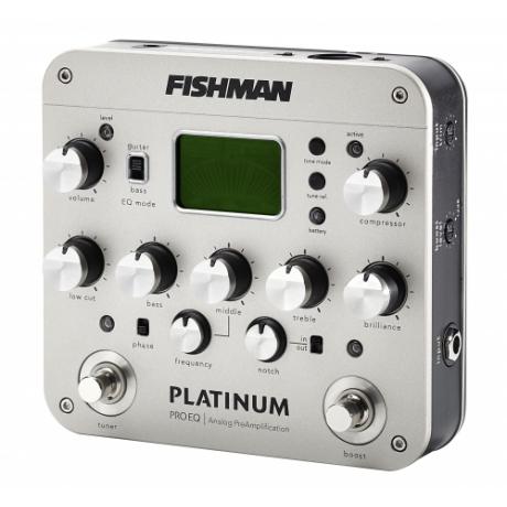 Fishman Platinum Pro EQ/DI Analog Preamp Pedalı<br>Fotoğraf: 2/5