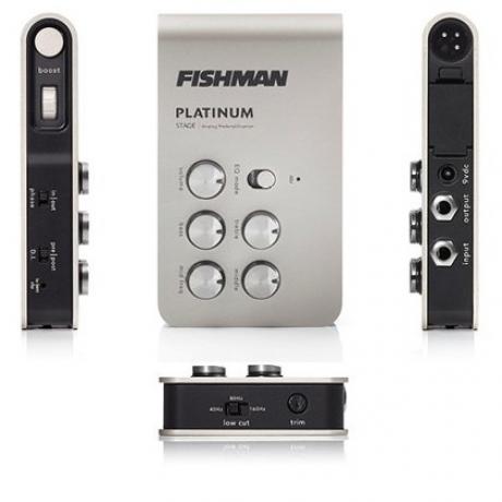 Fishman Platinum Stage EQ/DI Analog Preamp Pedalı<br>Fotoğraf: 4/4
