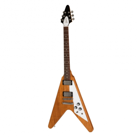 Flying V 2019 Elektro Gitar (Antique Natural)<br>Fotoğraf: 1/6
