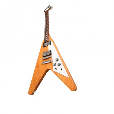 Flying V 2019 Elektro Gitar (Antique Natural)<br>Fotoğraf: 3/6