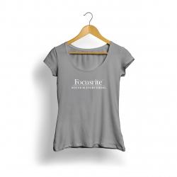 Focusrite Logo Kadın T-Shirt (Gri)