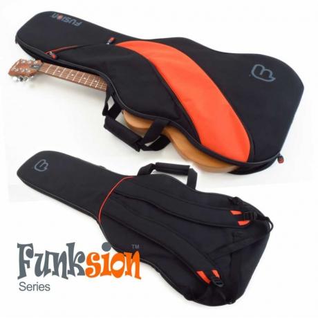 Fusion FG-01-O Funksion Turuncu Elektro Gitar Gigbag<br>Fotoğraf: 2/2