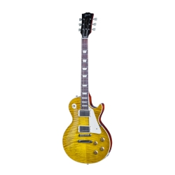 Gibson '59 Les Paul Standard Elektro Gitar (Honey Lemon Fade Vos)