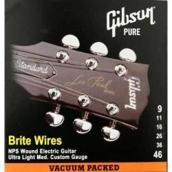 Gibson Brite Wires Elektro Gitar Teli (09-46)