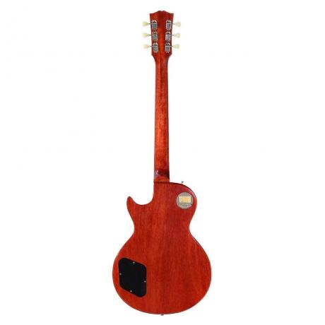 Gibson Custom 58 Les Paul Standard Elektro Gitar (Dark Bourbon Fade - VOS)<br>Fotoğraf: 3/5