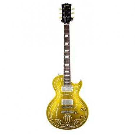 Gibson Custom Shop Billy Gibbons 1957 Les Paul Elektro Gitar (Goldtop)<br>Fotoğraf: 1/4
