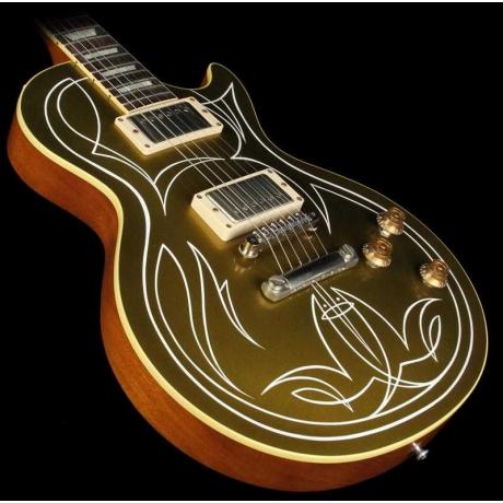 Gibson Custom Shop Billy Gibbons 1957 Les Paul Elektro Gitar (Goldtop)<br>Fotoğraf: 2/4