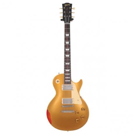 Gibson Custom Shop Les Paul Standard Elektro Gitar (Gold over Sunburst Aged)<br>Fotoğraf: 1/2