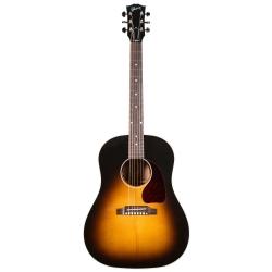 Gibson J-45 Standard Elektro Akustik Gitar (Vintage Sunburst)
