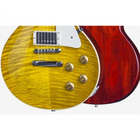 Gibson Les Paul '59 Standard Elektro Gitar (Honey Lemon Fade Vos)<br>Fotoğraf: 2/3