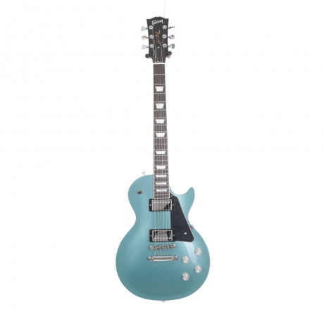 Gibson Les Paul Modern Elektro Gitar (Faded Pelham Blue)<br>Fotoğraf: 1/4