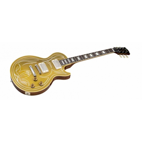 Gibson Les Paul Shop Billy Gibbons 1957 Elektro Gitar (Goldtop)<br>Fotoğraf: 3/4