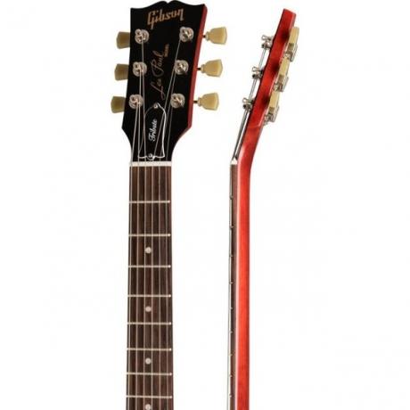 Gibson Les Paul Studio Tribute 2019 Elektro Gitar (Satin Iced Tea)<br>Fotoğraf: 4/4