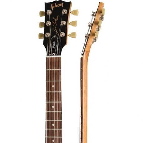 Gibson Les Paul Studio Tribute 2019 STB Elektro Gitar (Satin Tobacco Burst)<br>Fotoğraf: 4/4