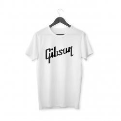 Gibson Logo T-Shirt (Beyaz)