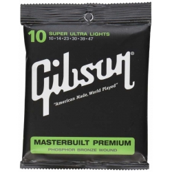 Gibson Masterbuilt Premium Phosphor Bronze Akustik Gitar Teli (10-47)