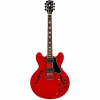 Gibson Memphis ES-335 Block Elektro Gitar (Cherry)<br>Fotoğraf: 1/4